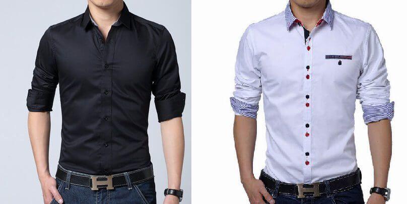 2335ef5338f6 Patrón camisa ajustada para hombre | Patrones gratis