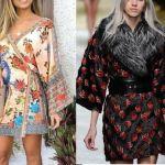 Vestido casaca kimono