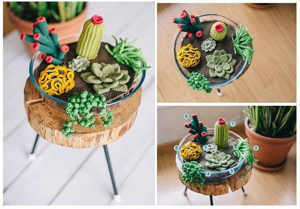 Amigurumi #Cactus   Crochet cactus, Crochet succulent, Crochet garden   417x600