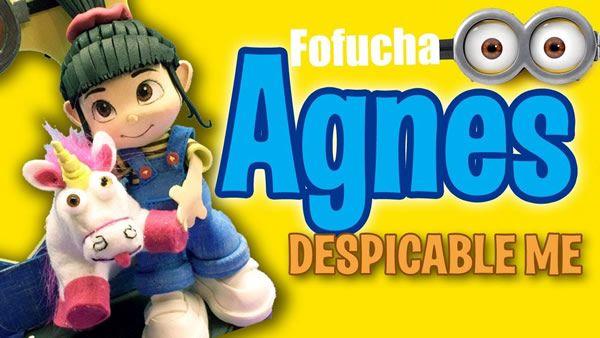 DIY Fofucha completa Agnes de Mi Villano Favorito - Patrones gratis 2bd98eedcbe