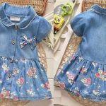 Patrón de Vestido chamesier infantil