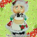DIY Fofucha Mamá Noel