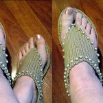 DIY sandalias a crochet para el verano