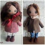 Como coser un abrigo para muñeca