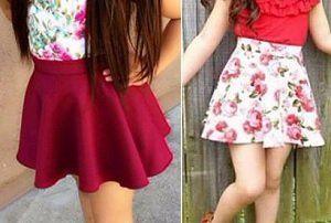 c67fa2fd7 Patrón de falda para niña - Patrones gratis