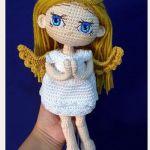 Micaela Angel amigurumi