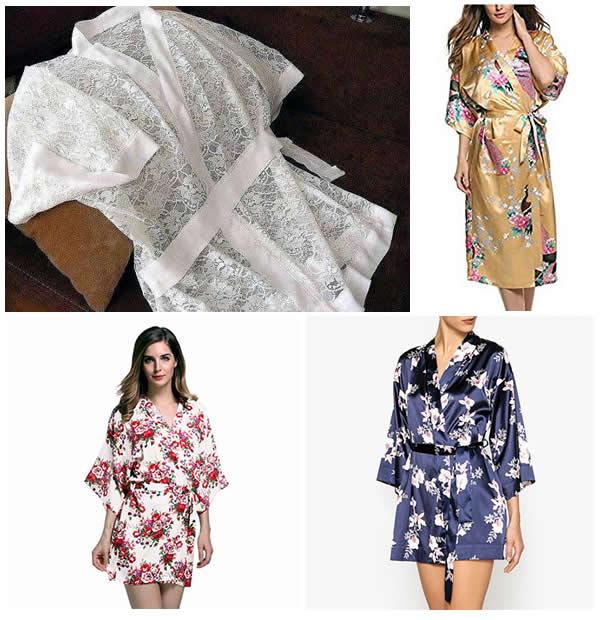 Patrón Bata kimono fácil de hacer - Patrones gratis