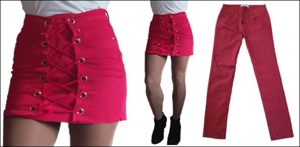 abd66d45c Como transformar un pantalón en una falda moderna - Patrones gratis
