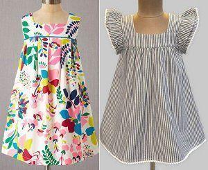 Como hacer vestidos de punto para ninas