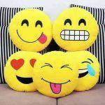 DIY divertidos cojines de Emojis