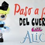 DIY muñeca Lol Surprise Alicia de tela