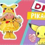 DIY Muñeca Rusa Pikachu de Fieltro