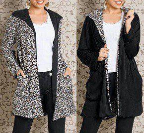Patrón de abrigo reversible para mujer - Patrones gratis 05c21a864645