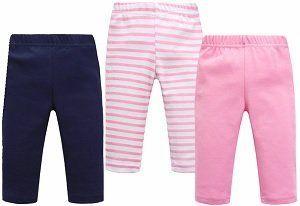 Pantalón infantil sin costuras laterales