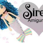 Amigurumi Sirena, muñeca a crochet