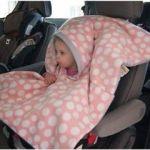 Cubierta con capucha infantil