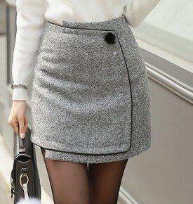 5a6e58f061 Mini falda cruzada tipo sobre - Patrones gratis