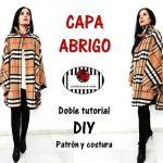 DIY capa abrigo con cuello alto