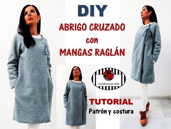 DIY Cómo hacer un abrigo con manga raglán