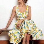 Vestido con corte princesa