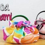 Bolsa de tela Origami fácil de hacer y sin coser