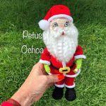 DIY Santa Claus en amigurumi