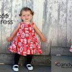Vestido niña cruzado por la espalda para verano
