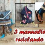 DIY 3 manualidades reciclando Jeans