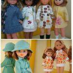 Patrones de ropa la muñeca Nancy