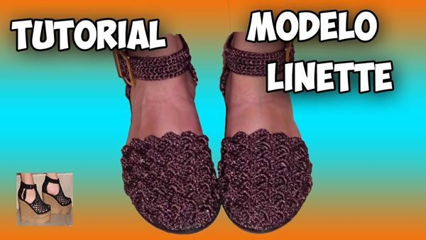 Zapatos Tejidos A Crochet Modelo Linette Patrones Gratis