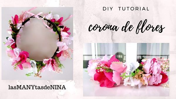 DIY Corona de flores