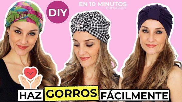 DIY Gorro turbante fácil de hacer