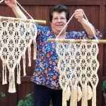 DIY Macramé tejido a crochet