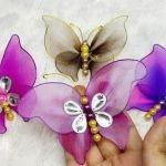Tutorial Como hacer Mariposas con medias