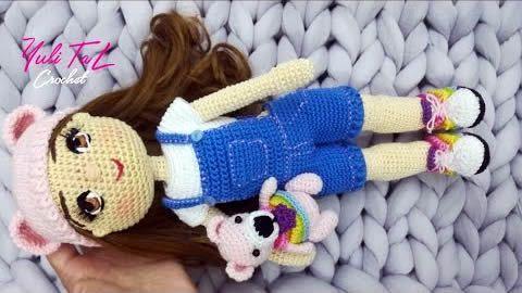 Muñeca amigurumi Sofia