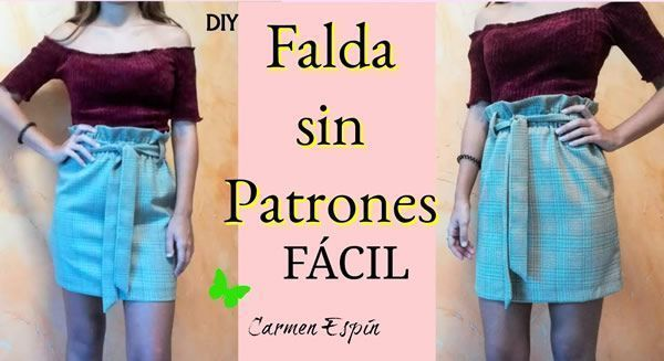 DIY Falda sin patrón