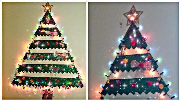 El árbol de navidad mas fácil del mundo