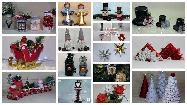 DIY con 23 ideas para Navidad