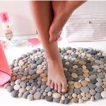 DIY Alfombra con piedras