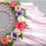 DIY Atrapasueños de flores