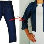 DIY Chaqueta de Jeans viejos