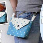 DIY Bolso monedero para el cinturón