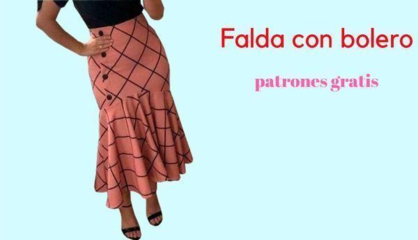 DIY Falda con bolero