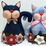 DIY Sujeta puertas gato con moldes
