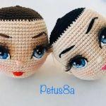 DIY Como bordar lindos ojos amigurumi