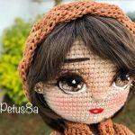 DIY Como bordar ojos a muñecas amigurumis
