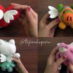 DIY Como hacer alas amigurumi para muñecos