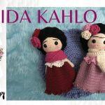 DIY Frida Khalo Amigurumi paso a paso