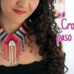 DIY Collar étnico tejido a crochet