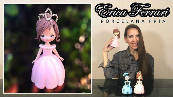 DIY Princesas en porcelana fría paso a paso
